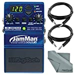 DigiTech JamMan Solo XT Looper Pedal w/ USB and microSDHC Slot and Accessory Bundle by Photo Savings