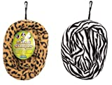 (2 Pack) Ware Manufacturing Safari Sleeper Beds for Small Animals - Medium - Colors May Vary
