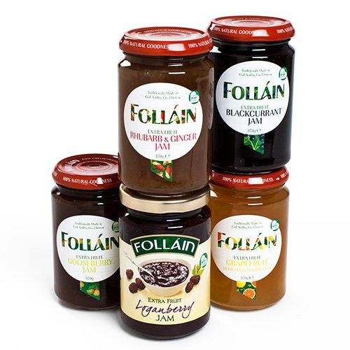 Follain Irish Jam - Gooseberry (1.372 pound) (Gooseberry Jam)