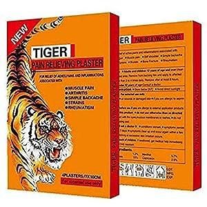 Set de 28 patchs baume du tigre anti-douleurs musculaires, Véritable Remède Chinois, Idéal Pour Douleurs au Cou, Dos…