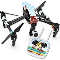 Skin For DJI Inspire 1 Quadcopter Drone – Vitamin Sea   MightySkins Protective, Durable, and Unique Vinyl Decal wrap cover   Easy To Apply, Remove, and Change Styles   Made in the USA