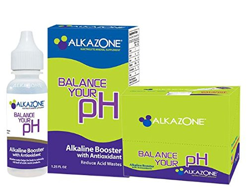 Alkazone Alkaline Booster Drops with Antioxidant, 1.25 Fluid Ounce (Alkaline Drops For Drinking Water compare prices)