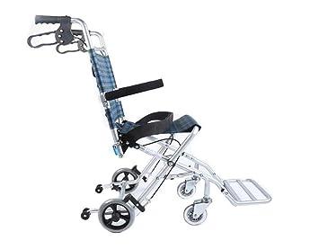 Amazon.com: Marco de paseo, silla de ruedas plegable, paseo ...