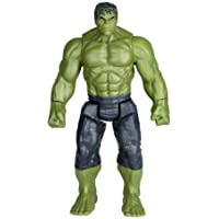 Urban Creation Avengers Infinity War End Game Titan Hero Series Hulk Action Figure with LED Light and Sound Effects Toys for Kids, 12 Inch/30 cm