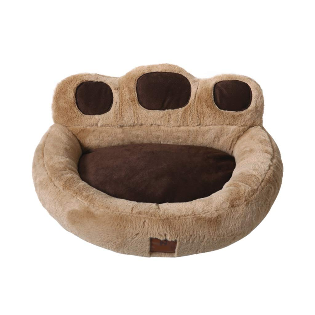 Pet bed Small Cat and Dog Bed Keep Warm Sleeper Plush Mattress Rabbit Velvet Cute Pet Products for Small Dogs Teddy and Cat Removable Cover