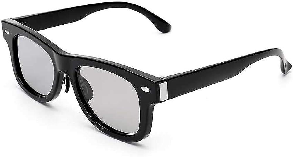 Gafas de sol NUEVO Gafas de sol de diseño original Lentes polarizadas Lentes de cristal líquido oscuras ajustables electrónicas