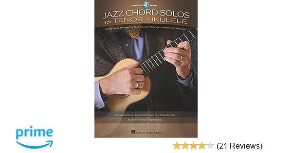 Amazon Jazz Chord Solos For Tenor Ukulele 10 Standards
