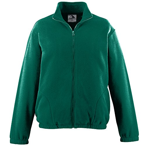 - MEN'S CHILL FLEECE FULL ZIP JACKET Augusta Sportswear 3XL Dark Green