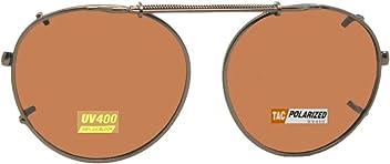 16baf1887c0 Sunglass Rage Semi Round Polarized Clip on Sunglasses