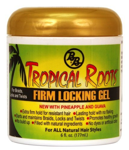 Bronner Brothers Tropical Roots Firm Locking Gel, 6 Ounce (Best Locking Gel For Dreads)
