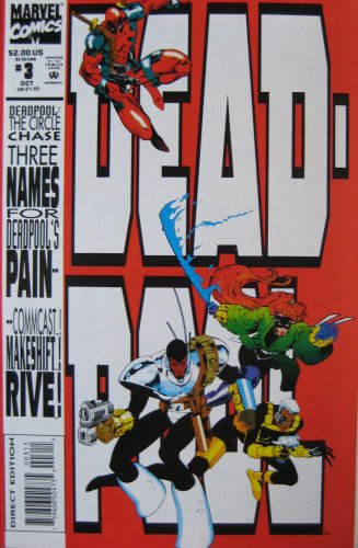 DEADPOOL #3, (The Circle Chase Round 3), October 1993 (VOLUME 1)]()
