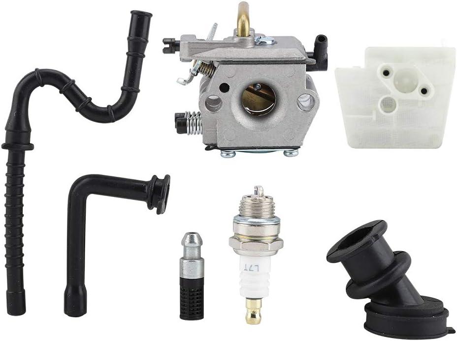 carburateur pour STIHL 024 026 MS240 MS260 MS 240 260 WT194 Accessoires pour Tondeuse /à Gazon 0 Aufee Carburateur pour STIHL 024 026 MS240 MS260 MS 240 260 tron/çonneuse