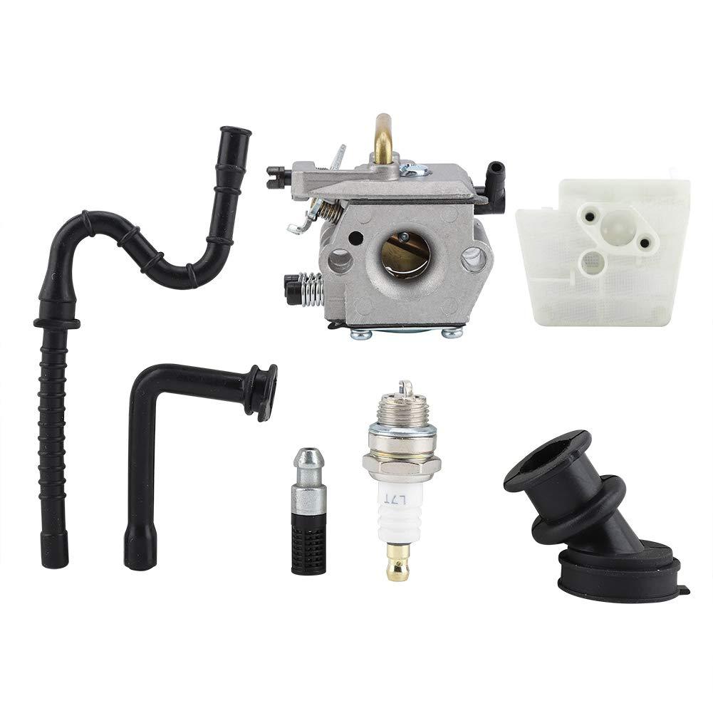 Carburador Metal de alta calidad para STIHL 024 026 MS240 MS260 MS 240 260 WT194 Motosierra Filtro de aire Bujía de admisión Bota de admisión Kit de tubo