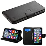 Asmyna Carrying Case for Microsoft Lumia 640 XL - Retail Packaging - Black Liner