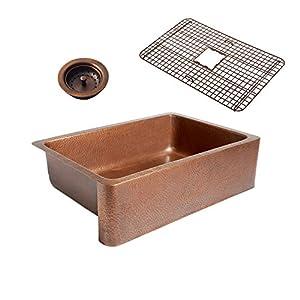 51k5aL21v-L._SS300_ Copper Farmhouse Sinks & Copper Apron Sinks