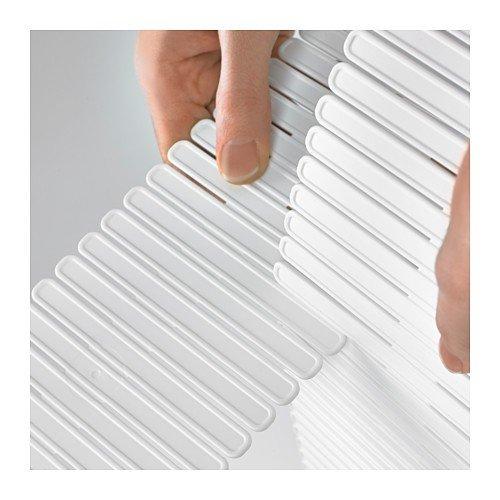 Ikea Höfta Separador Para Cajón Blanco 55x10x1 Cm 3