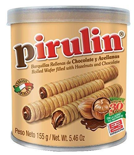 Barquillos Chocolate Pirulin, Caja 6 latas. Lata Barquillas Pirulin: Amazon.es: Alimentación y bebidas