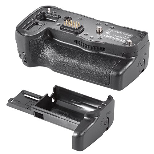 Neewer Replacement Battery Grip for D-BG5 Works with Rechargeable D-LI90 Battery or 6pcs AA batteries for Pentax K-3 Cameras