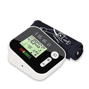 YHMMOO USB Tensiómetro de Brazo Cómodas y Precisas con Gran Pantalla LCD y 2 x 99 Memoria,Función de Voz Opcional: Amazon.es: Deportes y aire libre