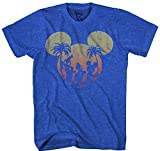 Best  - Disney Mickey Mouse Sunset Silhouette T-shirt Review