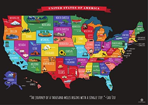 Scratch Off United States Travel product image