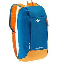 X-Sports Decathlon QUECHUA Kids Adults Outdoor Backpack Daypack Mini Small Bookbags10L (Blue/Orange)