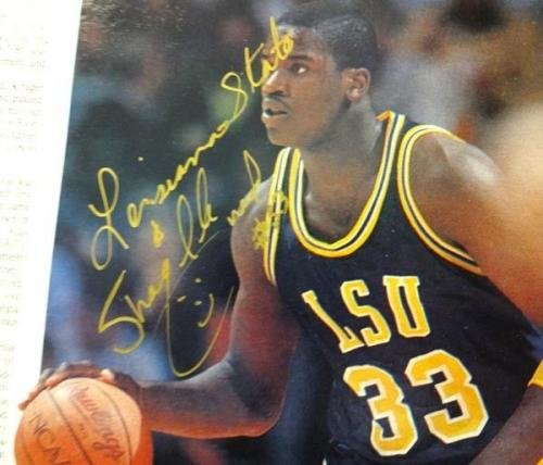 Shaquille O'Neal Authentic Autographed Signed 9x12 Magazine Photo LSU X23454 PSA/DNA Certified Autographed College Magazines