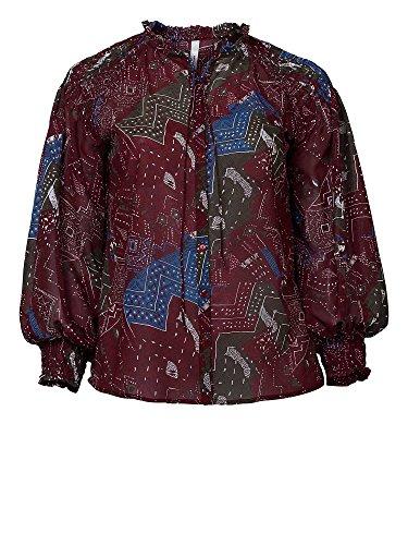 sheego Trend Blusa de gasa tallas grandes Mujer Multicolor