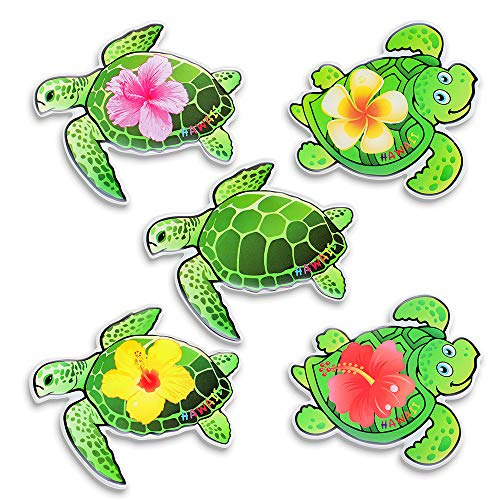 Morcart Turtle Refrigerator Magnets Cartoon Cute Fridge Magnets 6PCS 3D Pattern Suitable for Kichen Office Whiteboard Student Locker Perfect Hawaii Souvenir Holiday Gifts