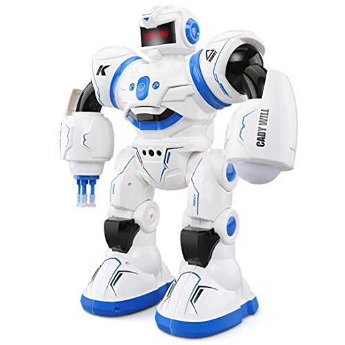 Charming RC Distant Management Robotic, COOL99 R3 Robotic Toys Clever Programming Combating Mode Dancing Sensor Management Youngsters Blue  Opinions