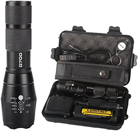 Bright 20000LM X800 Shadowhawk Military CREE XM-L L2 LED Tactical Flashlight NEW