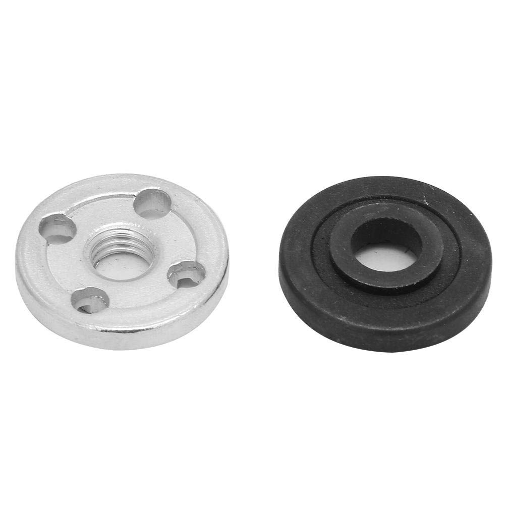 Angle Grinder Flange Nut 6100 1 Pair Electrical Angle Grinder Inner Outer Flange Nut Replacement Fitting Part Set