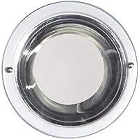 Luminária de Embutir Copo Alumínio, Attena, 5022 B, Metalizado