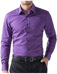 Amazon.com: Purple - Dress Shirts / Shirts: Clothing, Shoes & Jewelry