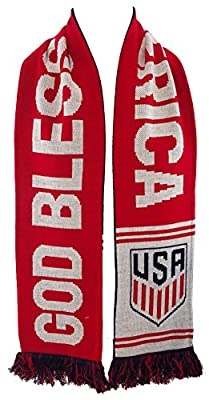 World Cup Soccer United States Liberty or Death Scarf, Blue