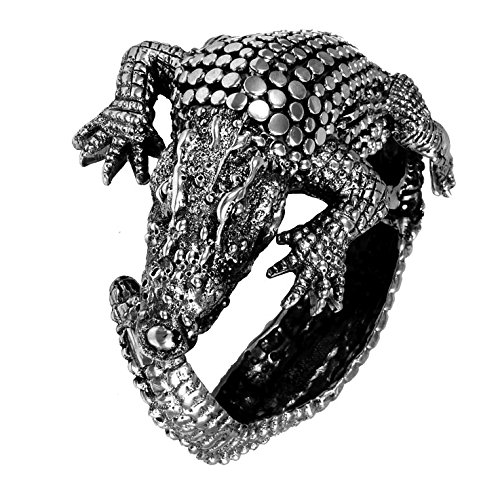 Bracelet en Argent Fin 925/1000-Crocodile
