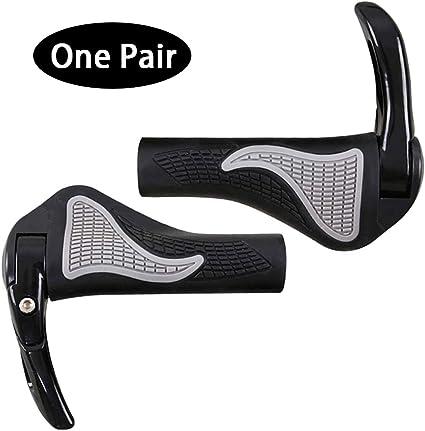 MEETLOCKS Bike Grips Comfort Ergo Handlebar Grip Designed for MTB BMX Cycling