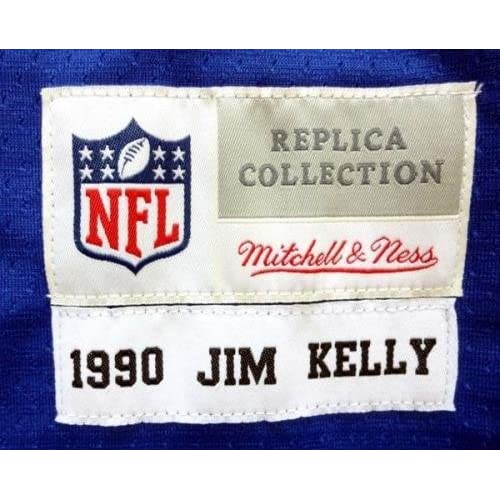 outlet store 88843 d485e Autographed Jim Kelly Jersey - Blue Mitchell & Ness Size 48 ...