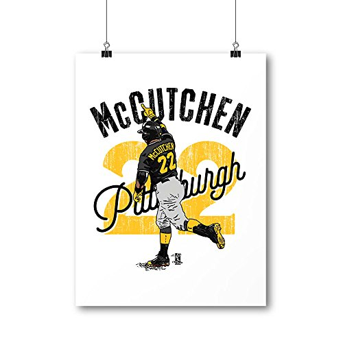 500 Level's Andrew McCutchen Cool Wall Poster For Pittsburgh Baseball Fans - Andrew McCutchen