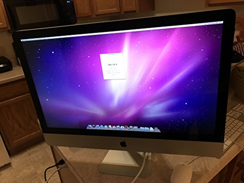 Apple - iMac MC507LL/A All-in-One Desktop - Intel Quad-Core i7-860 2.80GHz - 4GB RAM - 1TB HDD - DVD±RW - AMD Radeon HD 4850M with 512MB - Mac OS x10.6 Snow Leopard - 27.0-inch (1920x1080)