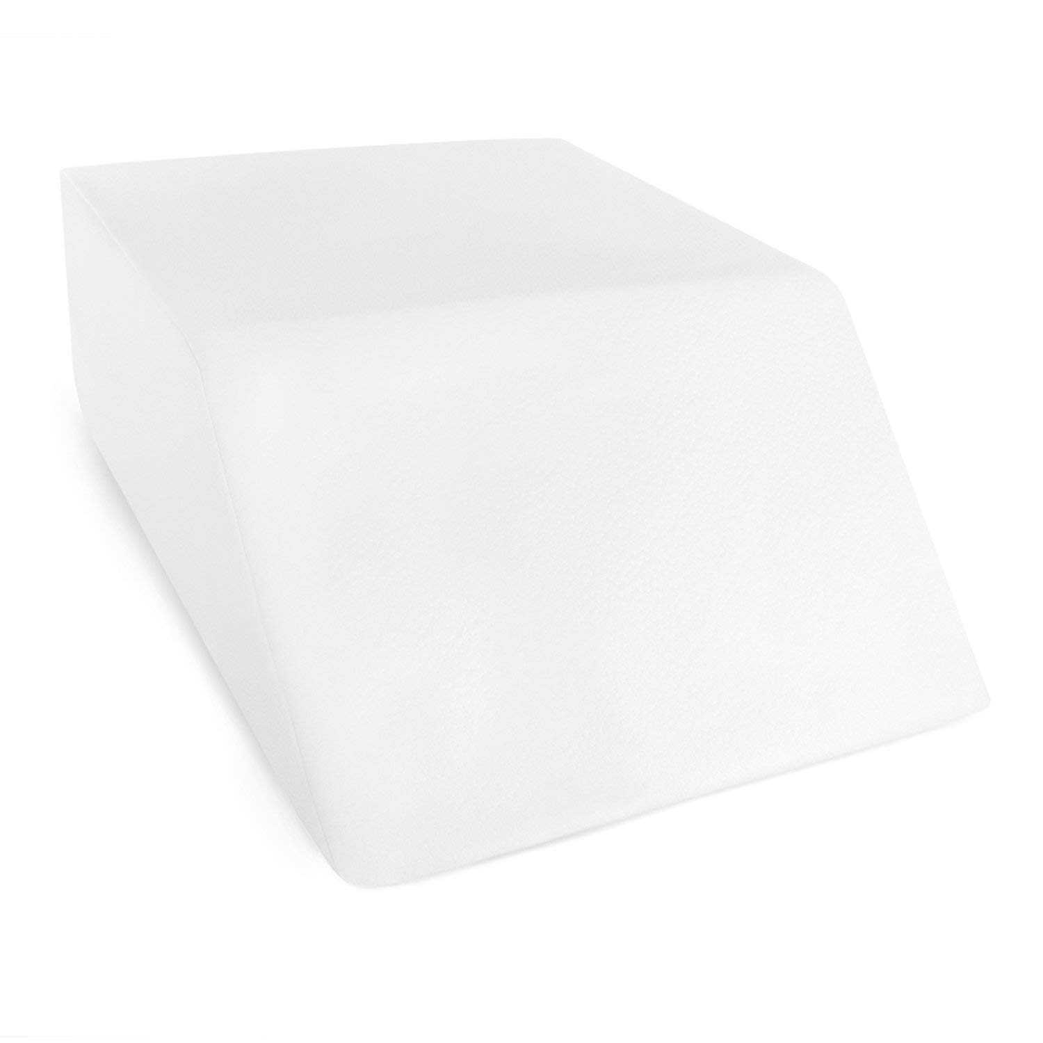 Restorology Elevating Foam Leg Rest Pillow - Wedge Pillow - Reduces Back Pain and Improves Circulation - Includes Removable Cover by Restorology