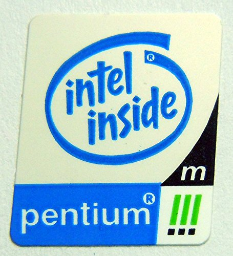 (Original Intel Inside Pentium 3 Mobile Sticker 14 x 18mm [75])