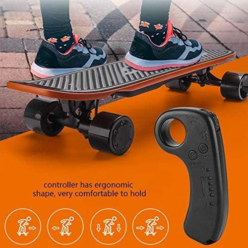 Asixx Moteur sans Brosse, 430W Unique entraînement ESC Système de contrôle de Skateboard Longboard électrique avec contrôle LED