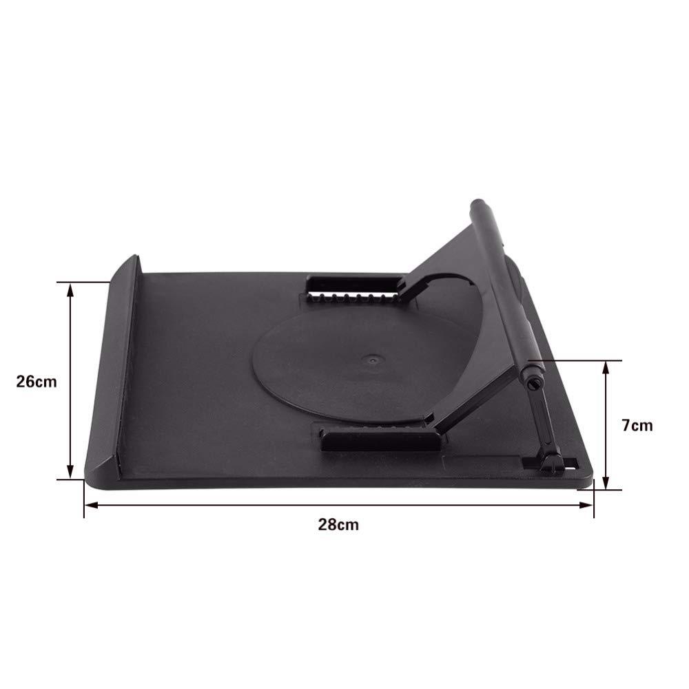 DHmart Adjustable Cooling Cooler Table Fan Stand Holder Notebook Laptop Universal Laptop Cooler Fan Holder Pad Notebook Stand by DHmart (Image #1)
