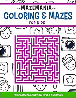 Ellie Magical Morning Maze Coloring Page   crayola.com   336x260