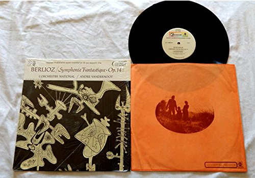 Price comparison product image Andre Vandernoot LP Berlioz Symphonie Fantastique Op. 14 - Command Classics / ABC Records 1972 - Near Mint Cover In Shrink Wrap - From the Original Master recorded on 35 mm magnetic film.