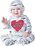 InCharacter Costumes Baby's I Love My Mummy Costume, White, Large