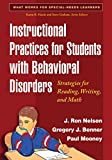Instructional Practices for Students with Behavioral Disorders 1st Edition