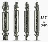 Bastex Damaged Screw Extractor Set, Easily Remove