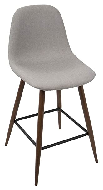 Tremendous Amazon Com Lumisource Mid Century Modern Counter Stool In Lamtechconsult Wood Chair Design Ideas Lamtechconsultcom